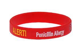 Penicillin-allergy-bracelet